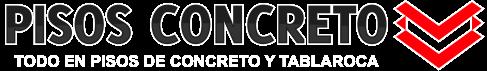 Pisos Concreto Logo